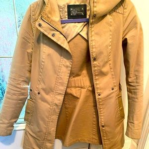 Mackage cotton and leather jacket XXS